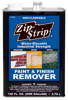 ZIP STRIP 273001 INDUSTRIAL PAINT AND FINISH REMOVER SIZE:1 GALLON PACK:2 PCS.