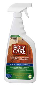 ABSOLUTE COATINGS 70034 POLYCARE FLOOR CLEANER READY TO USE SIZE:32 OZ.
