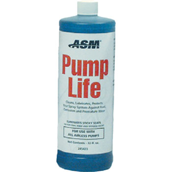 ASM 245423 PUMP LIFE FLUID PROTECTS FROM CORROSION AND RUST SIZE:32 OZ.