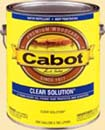 CABOT STAIN 13000 NATURAL CLEAR SOLUTION OIL BASED SIZE:1 GALLON.