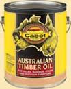 CABOT STAIN 43400 AUSTRALIAN TIMBER  OIL NATURAL SIZE:QUART.