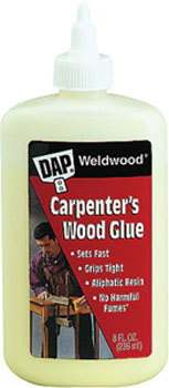 DAP 00490 WELDWOOD CARPENTER GLUE SIZE:8 OZ.