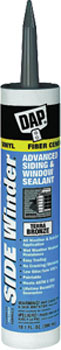 DAP 00846 SIDE WINDER ADVANCED POLYMERY SIDING & WINDOW SEALANT TERRA BRONZE SIZE:10.1 OZ PACK:12 PCS.