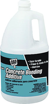 DAP 02132 CONCRETE BONDING ADDITIVE SIZE:1 GALLON.