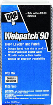 DAP 10314 WEB PATCH 90 (DRY MIX) SIZE:4 LBS.
