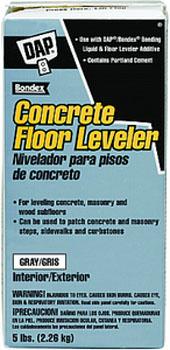 DAP 10414 CONCRETE FLOOR LEVELER DRY SIZE:5 LBS.