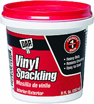 DAP 12130 VINYL SPACKLING (RTU) SIZE:0.5 PINT.