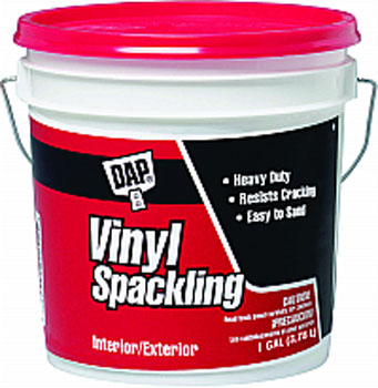 DAP 12133 VINYL SPACKLING (RTU) SIZE:1 GALLON.