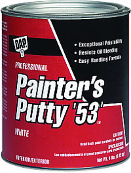 DAP 12244 PAINTERS PUTTY 53 (RTU) SIZE:QUART.