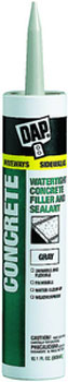 DAP 18096 CONCRETE WATERPROOF FILLER AND SEALANT GRAY SIZE:10.3 OZ PACK:12 PCS.