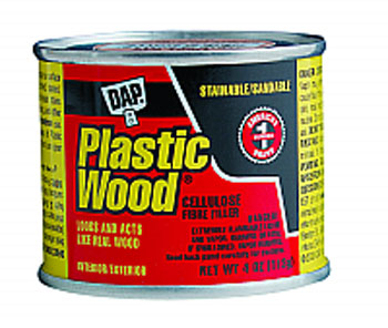 DAP 21408 PLASTIC WOOD SOLVENT WOOD FILLER GOLDEN OAK SIZE:4 OZ PACK:12 PCS.