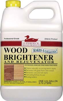 DUCKBACK DB-1450-4 EXTERIOR WOOD BRIGHTENER SIZE:1 GALLON.