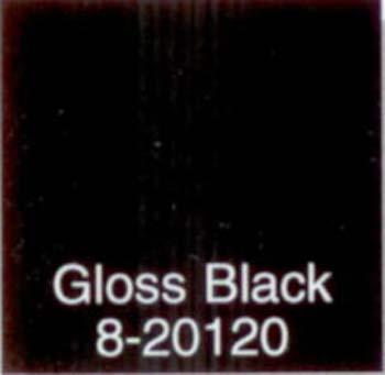 MAJIC 01208 8-20120 SPRAY ENAMEL GLOSS BLACK MAJIC SIZE:10 OZ.SPRAY.