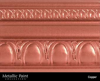 MODERN MASTERS METALLIC PAINT 99987 ME-195 COPPER NT SIZE:6 OZ.