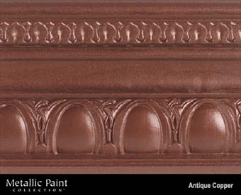 MODERN MASTERS METALLIC PAINT 20506 ME-205 ANTIQUE COPPER NT SIZE:6 OZ