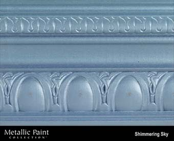 MODERN MASTERS METALLIC PAINT 99840 ME-514 SHIMMERING SKY SIZE:QUART.