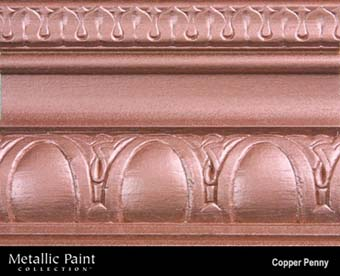 MODERN MASTERS METALLIC PAINT 57932 ME-579 COPPER PENNY SIZE:QUART.