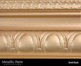 MODERN MASTERS METALLIC PAINT 92025 ME-658 GOLD RUSH SIZE:6 OZ.