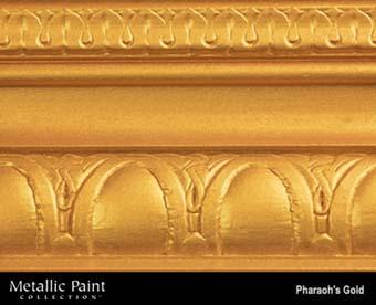 MODERN MASTERS METALLIC PAINT 92017 ME-660 PHAROAHS GOLD SIZE:QUART.