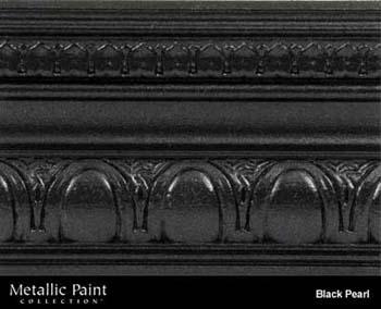 MODERN MASTERS ME700-GAL BLACK PEARL METALLIC PAINT SIZE:1 GALLON.