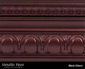 MODERN MASTERS ME704-06 BLACK CHERRY METALLIC PAINT SIZE:6 OZ.