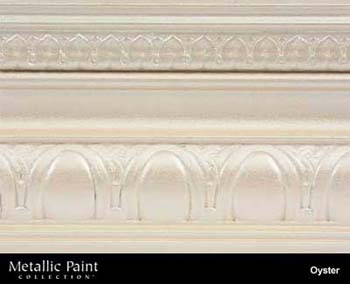 MODERN MASTERS ME705-32 OYSTER METALLIC PAINT SIZE:QUART.