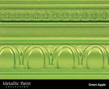 MODERN MASTERS ME706-32 GREEN APPLE METALLIC PAINT SIZE:QUART.