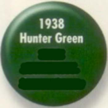 RUSTOLEUM 19387 1938730 HUNTER GREEN PAINTERS TOUCH SIZE:1/2 PINT PACK:6 PCS.