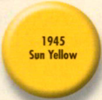 RUSTOLEUM 19457 1945730 SUN  YELLOW PAINTERS TOUCH SIZE:1/2 PINT PACK:6 PCS.