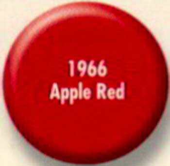 RUSTOLEUM 19668 1966830 SPRAY PAINT APPLE RED PAINTERS TOUCH SIZE:12 OZ. SPRAY PACK:6 PCS.