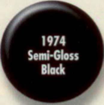RUSTOLEUM 19748 1974830 SPRAY PAINT SEMI  GLOSS BLACK PAINTERS TOUCH SIZE:12 OZ. SPRAY PACK:6 PCS.
