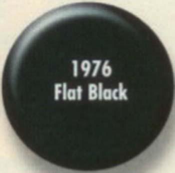 RUSTOLEUM 19765 1976502 FLAT BLACK PAINTERS TOUCH SIZE:QUART.