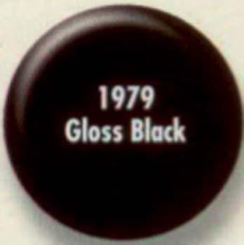 RUSTOLEUM 19798 1979830 SPRAY PAINT GLOSS BLACK PAINTERS TOUCH SIZE:12 OZ. SPRAY PACK:6 PCS.