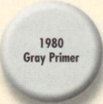 RUSTOLEUM 19807 1980730 GRAY PRIMER PAINTERS TOUCH SIZE:1/2 PINT PACK:6 PCS.