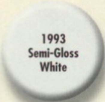 RUSTOLEUM 19937 1993730 SEMI GLOSS WHITE PAINTERS TOUCH SIZE:1/2 PINT PACK:6 PCS.