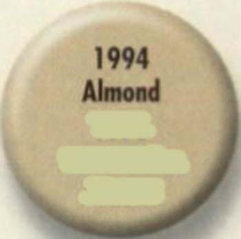 RUSTOLEUM 19948 1994830 SPRAY PAINT ALMOND PAINTERS TOUCH SIZE:12 OZ. SPRAY PACK:6 PCS.