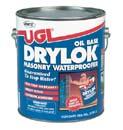 UGL 20713 DRYLOK WHITE OIL BASE MASONRY WATERPROOFER READY MIXED SIZE:1 GALLON.
