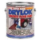 UGL 21413 DRYLOK DOVER GRAY WATER BASE FLOOR PAINT LOW VOC SIZE:1 GALLON.