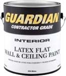VALSPAR 255 GUARDIAN CONTRACTOR INT LATEX WALL & CEILING FLAT WHITE SIZE:1 GALLON.
