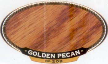 VARATHANE 12833 211757 GOLDEN PECAN 209 OIL STAIN SIZE:1/2 PINT PACK:4 PCS.