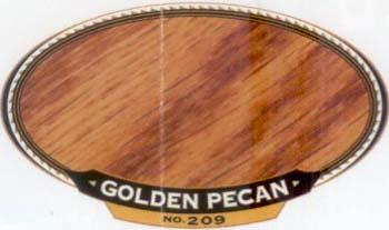 VARATHANE 12849 211932 GOLDEN PECAN 209 OIL STAIN SAMPLE PACK:40 PCS.