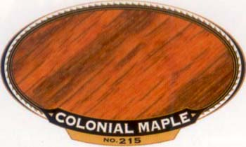 VARATHANE 12891 211934 COLONIAL MAPLE 215 OIL STAIN SAMPLE PACK:40 PCS.