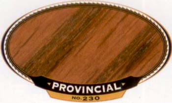 VARATHANE 12850 211794 PROVINCIAL 230 OIL STAIN SIZE:1/2 PINTPACK:4 PCS.