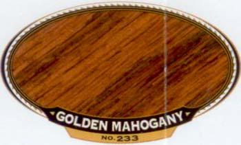 VARATHANE 12808 211718 GOLDEN MAHOGANY 233 OIL STAIN SIZEQUART