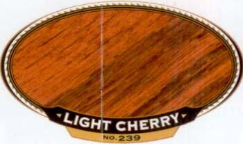 VARATHANE 12853 211797 LT CHERRY 239 OIL STAIN SIZE:1/2 PINT PACK:4 PCS.