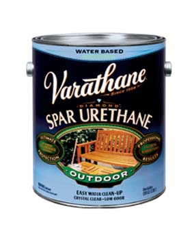 VARATHANE 25013 250131 CLEAR SEMI GLOSS DIAMOND OUTDOOR WATERBORNE WOOD CARE SIZE:1 GALLON.