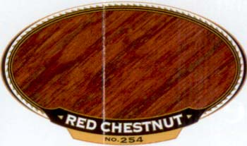 VARATHANE 12858 211802 RED CHESTNUT 254 OIL STAIN SIZE:1/2 PINT PACK:4 PCS.