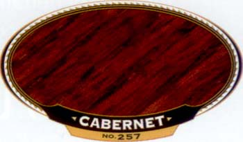 VARATHANE 12905 211948 CABERNET 257 OIL STAIN SAMPLE PACK:40 PCS.