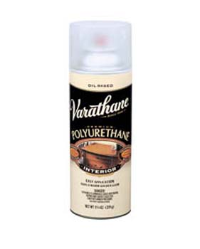VARATHANE 00908 9081 SPRAY CLEAR GLOSS INTERIOR CLASSIC (OIL) SIZE:11.25 OZ. SPRAY PACK:6 PCS.