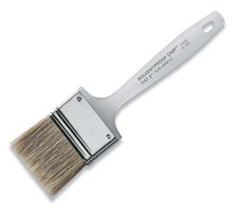 "WOOSTER 1147 SOLVENT PROOF CHIP BRUSH SIZE:1"" PACK:36 PCS."